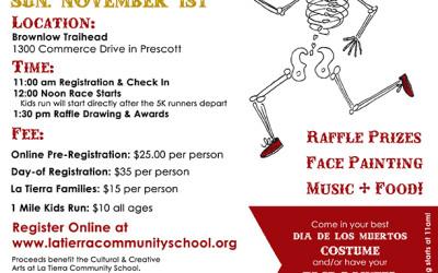Dia de los Muertos 5 Community Fun Run